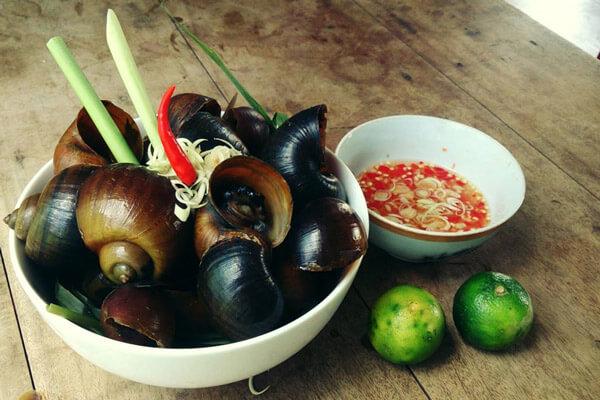 Mang thai 3 thang dau co duoc an oc khong